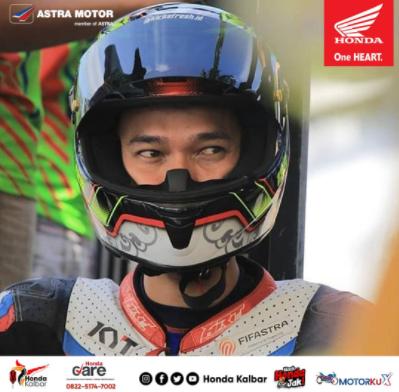 Yossie Pembalap Astra Motor Kalbar yang Briliant