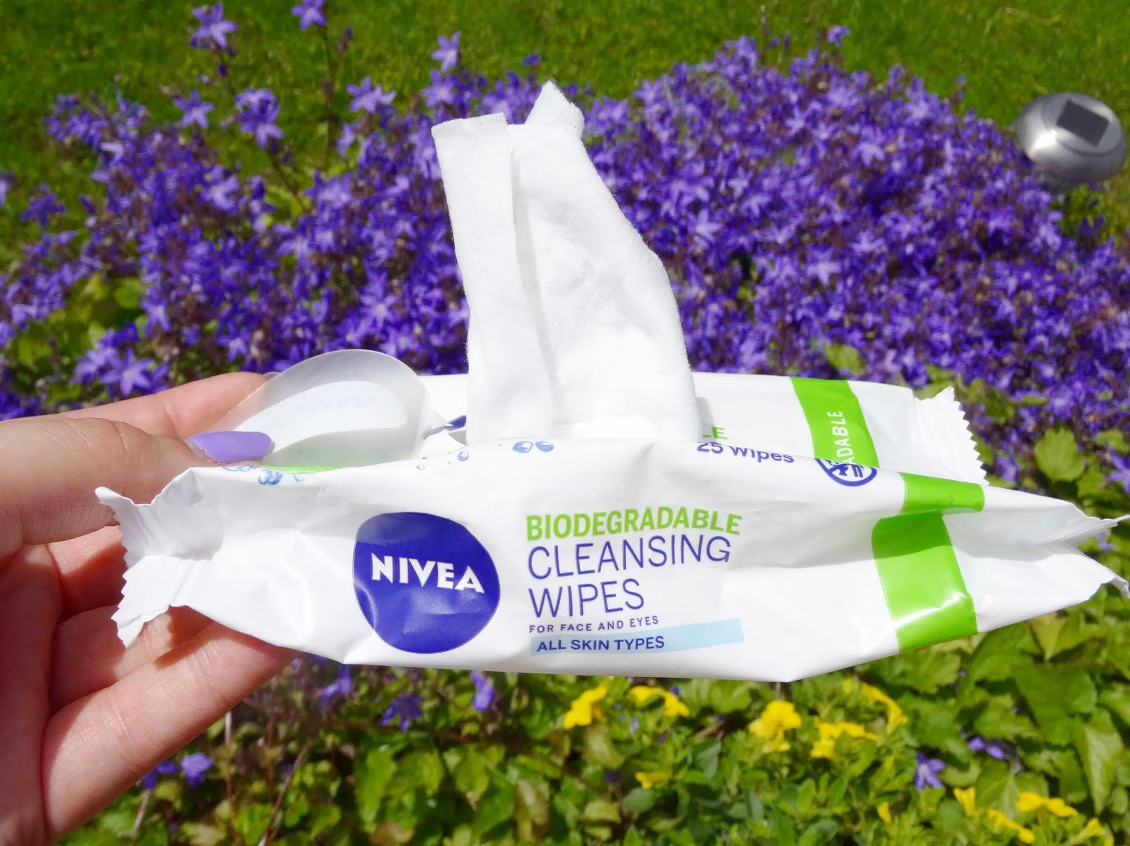 NEW Biodegradable Cleansing Wipes from Nivea