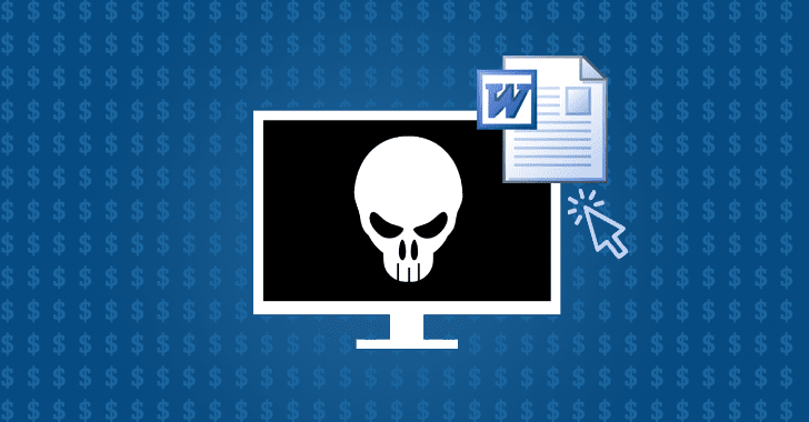 Unpatched Microsoft Word Flaw is Being Used to Spread Dridex Banking Trojan