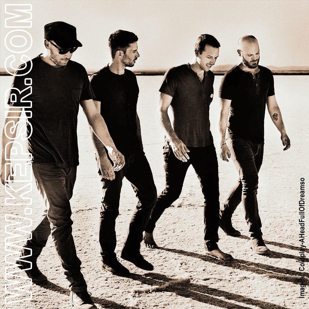 Coldplay AHeadFullOfDreamso kepsir