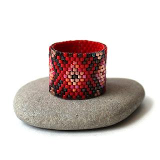 купить оригинальное кольцо необычного дизайна этно бохо кольцо