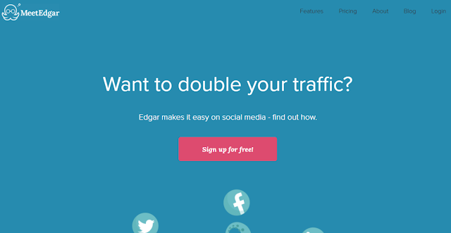 Meet edgar social media management tool