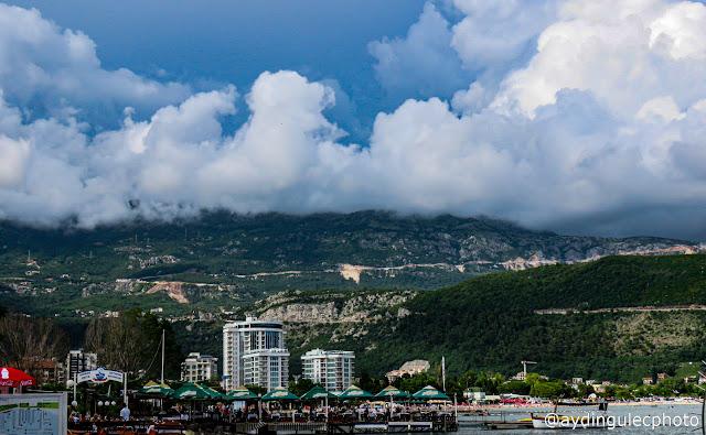 Clouds over Budva