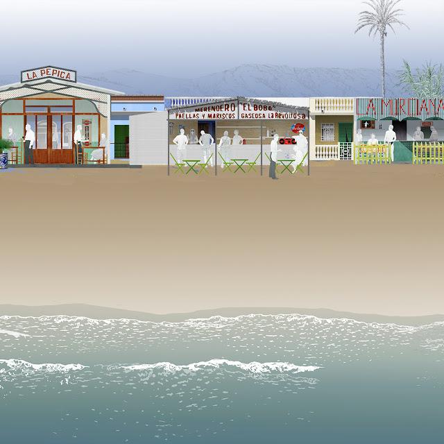 chiringuito, playa, Pepica, El Bobo, La murciana