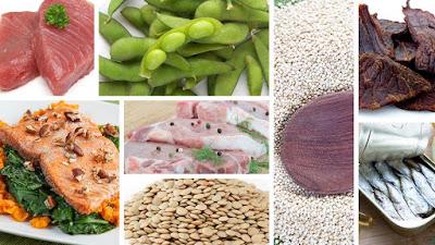 10 Makanan Yang Hampir Merupakan Protein Murni