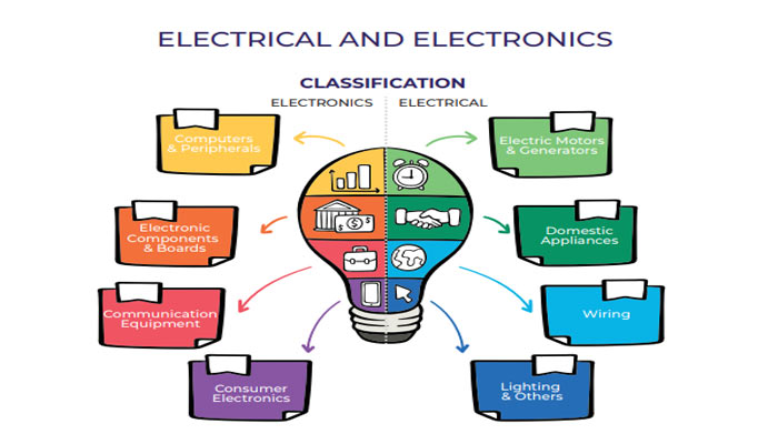 Different Between Electrical and Electronics Hindi