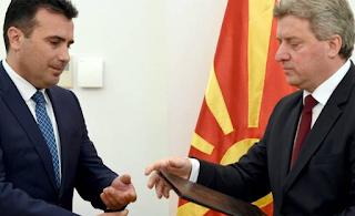 Έξαλλος ο πρόεδρος των Σκοπίων με τη συμφωνία για το νέο όνομα