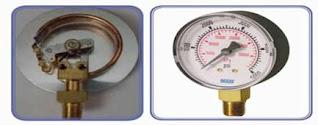 مقياس بوردن للضغط Bourdon tube