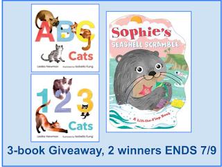 ABC Cats, 123 Cats, & Sophie's Seashell Scramble