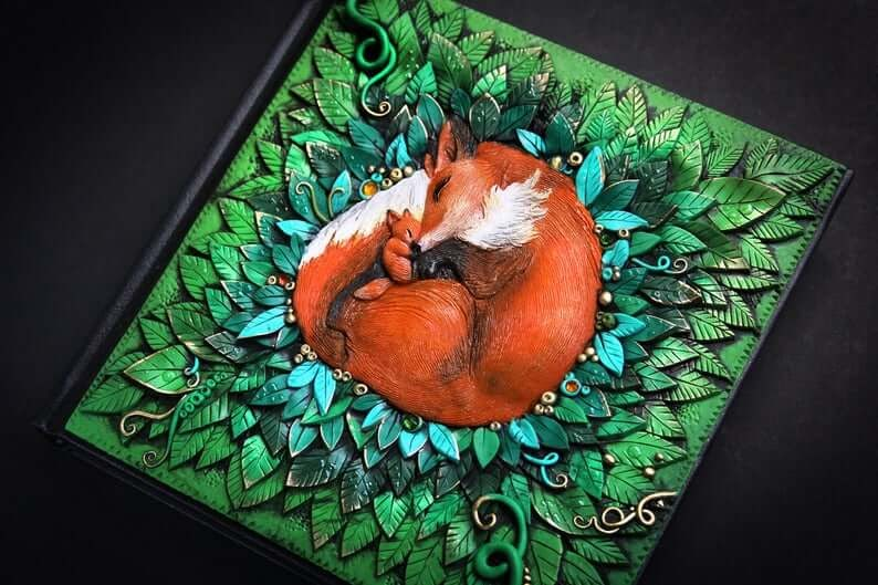 09-Fox-Journal-Aniko-Kolesnikova-Animal-Fantasy-Journal-and-Book-Covers-www-designstack-co