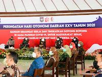 Bersama Jajaran Forkopimda, Dandim Bojonegoro Hadiri Puncak Acara Hari Otonomi Daerah