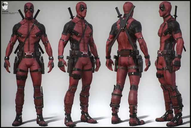 Deadpool Character Rig Free Download