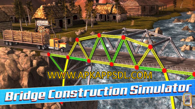Download Bridge Construction Simulator Apk Mod v1 Full Version 2016