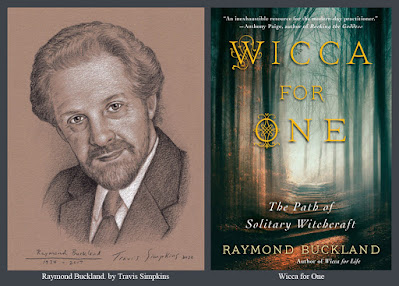 Raymond Buckland. Seax-Wica. Wicca for One. Solitary Witchcraft. by Travis Simpkins