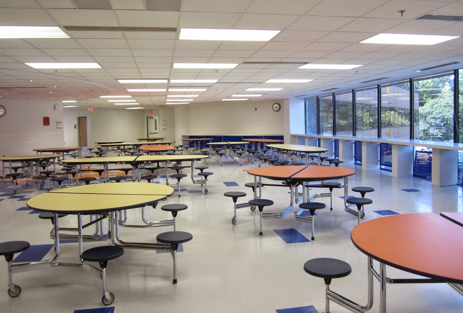 Innovative Classroom Lighting ~ The annandale bailey s upper elementary school