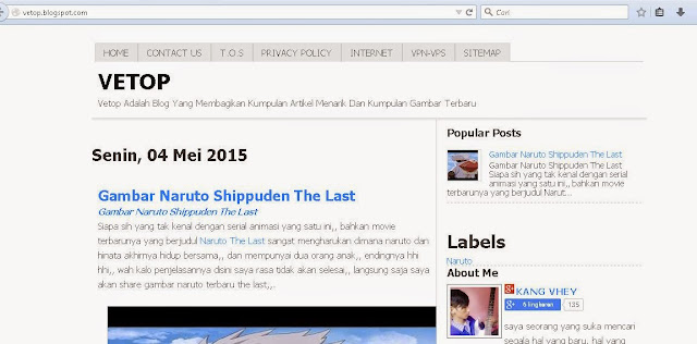 Template Blogger Error di Auto Readmore