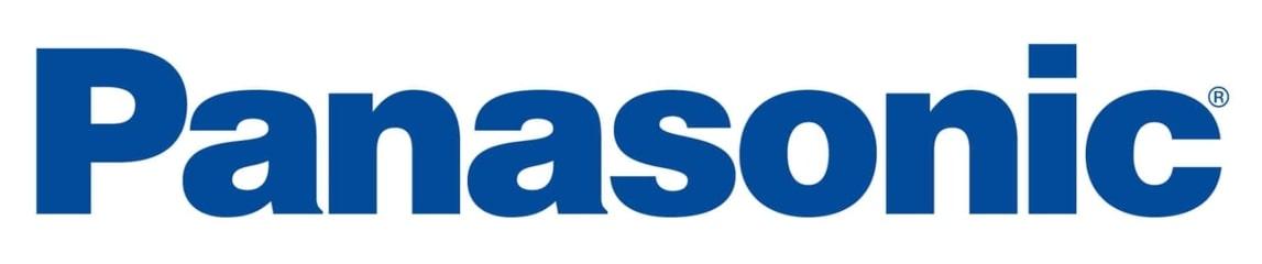 Panasonic logo.