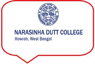 Narasinha Dutt College, 129, Belilious Road, Howrah - 711101, West Bengal
