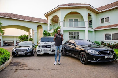 Emmanuel Adebayor shows off his exotic cars and mansion to celebrate 36th birthday