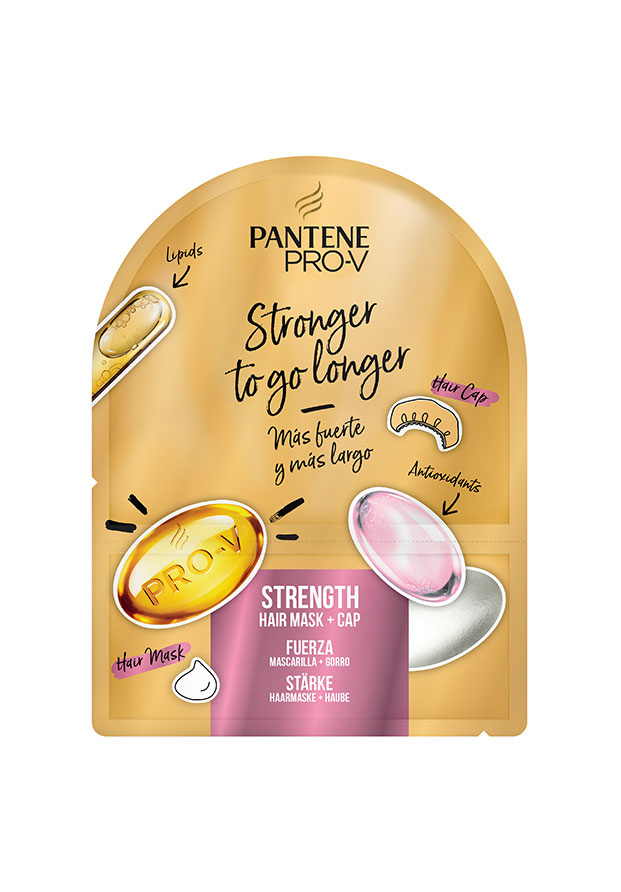 Strength Hair Mask + Cap de Pantene