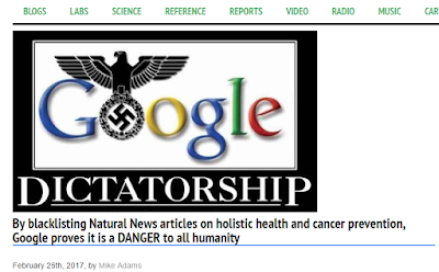 """ fake news or google violation : the truth behind natural news website"""