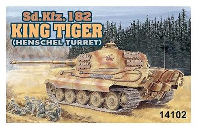 1/144 Kingtiger Henschel (14102)