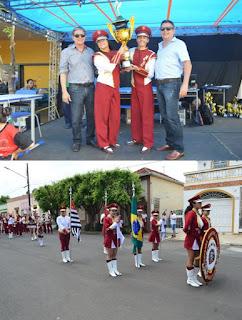 Fanfarra Municipal Miyoji Kayo sagra-se Campeã Estadual Paulista em Quatá