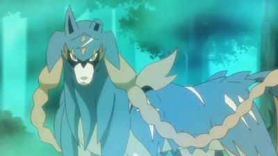 Zacian Anime Pokémon