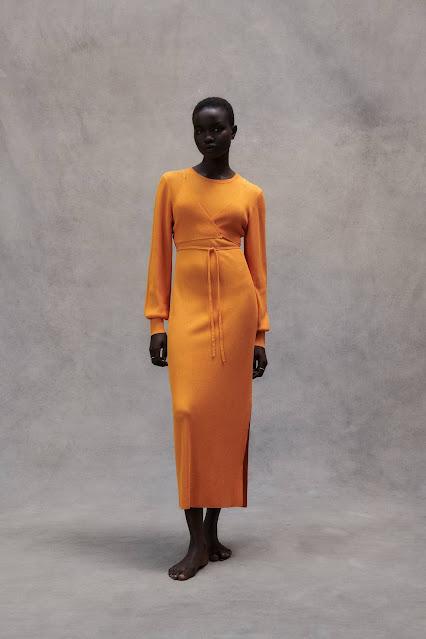 Zara Knit Midi Dress