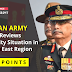 Indian Army Chief Reviews Security Situation in North East Region: Key Points