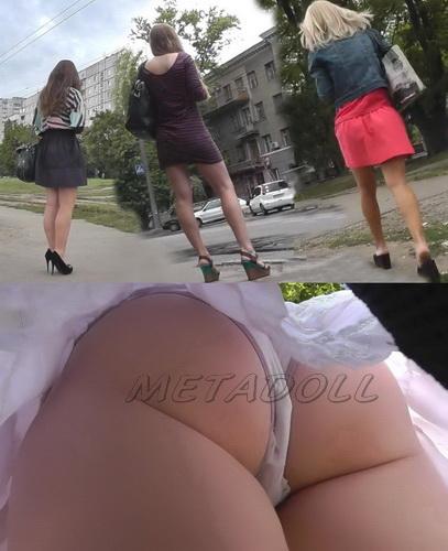 Upskirt young girls - Voyeur upskirt shot in public bus. Subway Upskirt Sexy Girls (100Upskirt 4623-4663)