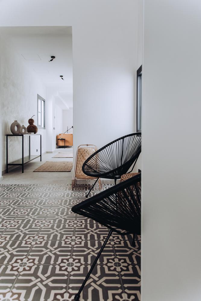 Estilo mediterráneo-escandinavo con un toque minimalista