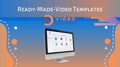 Video Dashboard  Ready Made Video Templates