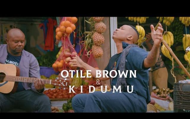 Otile brown X Kidum - Leilah