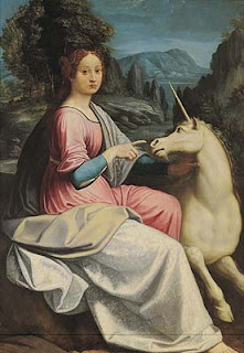 The Lady and the Unicorn is said to depict Giulia Farnese
