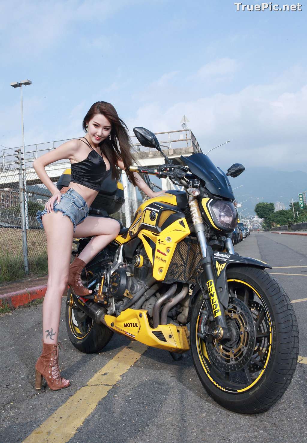 Image Taiwanese Model - Suki - Beautiful and Lovely Motor Racing Girl - TruePic.net - Picture-7
