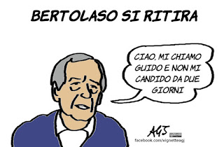 berlusconi, bertolaso. marchini, elezioni roma, satira, vignetta