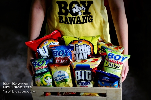 Boy Bawang New Products, Boy Bawang Best Local Snacks in the Philippines, Boy Bawang KSK Food Products Blog Review YedyLicious Manila Food Blog Yedy Calaguas