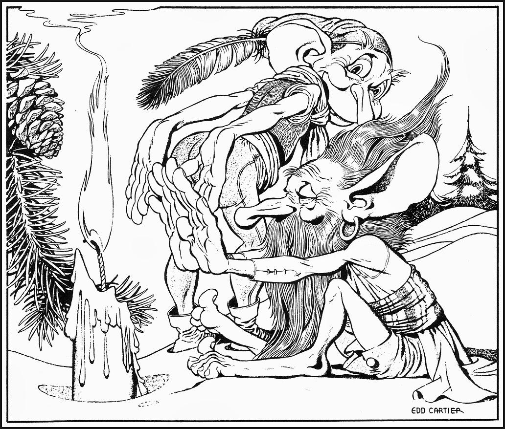 GNOME PRESS CALENDARS ~ 1949-50 ~ Hannes Bok & Edd Cartier