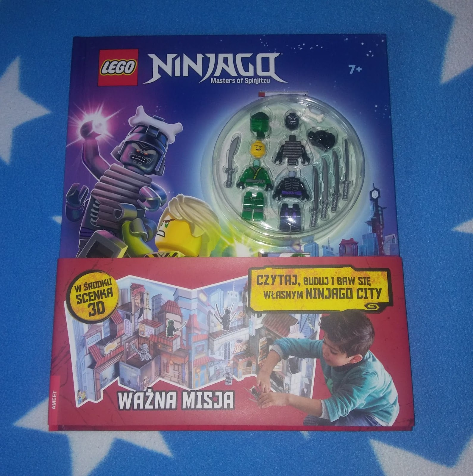 AMEET- LEGO NINJAGO WAŻNA MISJA