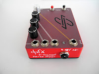 Stereo Pedal mixer, stereo effects blender