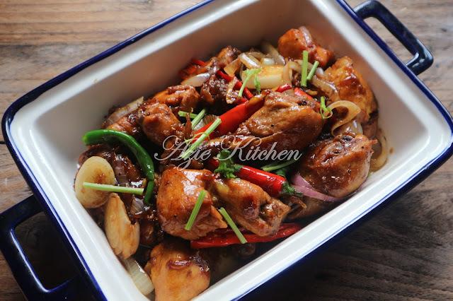 Ayam Goreng Masak Halia