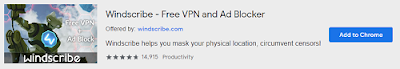 WindscribeVPN | Best VPN Extensions for Chrome | Mr Tech Care