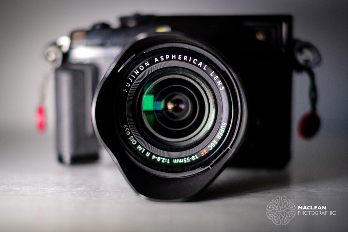 Review What Is The Best Fuji Kit Lens Part 2 Fujifilm X Adventure Fujinon Xf18 55mm F28 4 R Lm Ois First Of All Perhaps Understandably A Lot Smaller And Compact Than 18 135mm Standard Zoom It