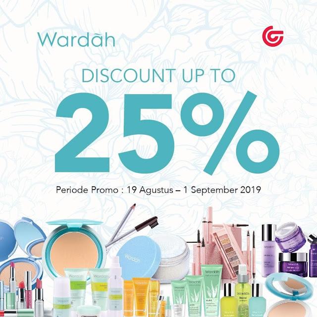 #Matahari - #Promo Diskon Hingga 25% Wardah Kosmetik (s.d 01 Sept 2019)