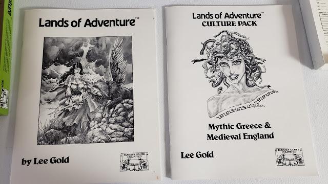 Lands of Adventure books