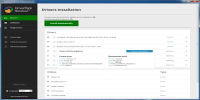 تحميل افضل برنامج DriverPack Solution لتنزيل تعريفات الكمبيوتر المفقودة ويندوز مجانا