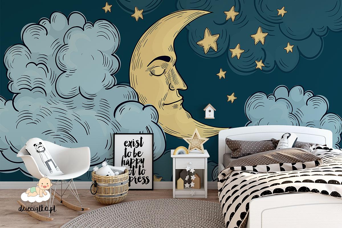 tapeta z księżycem