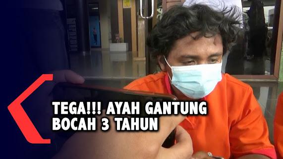 Kesal Istri Tak Pulang ke Rumah, Seorang Ayah di Palembang Nekat Gantung Anak dan Videokan Aksinya