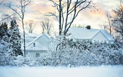 musim dingin salju inggris